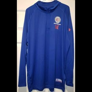 Los Angles Clippers Zip Long Sleeve Under Armour